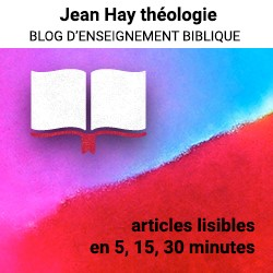 Jean Hay Blog Théologique